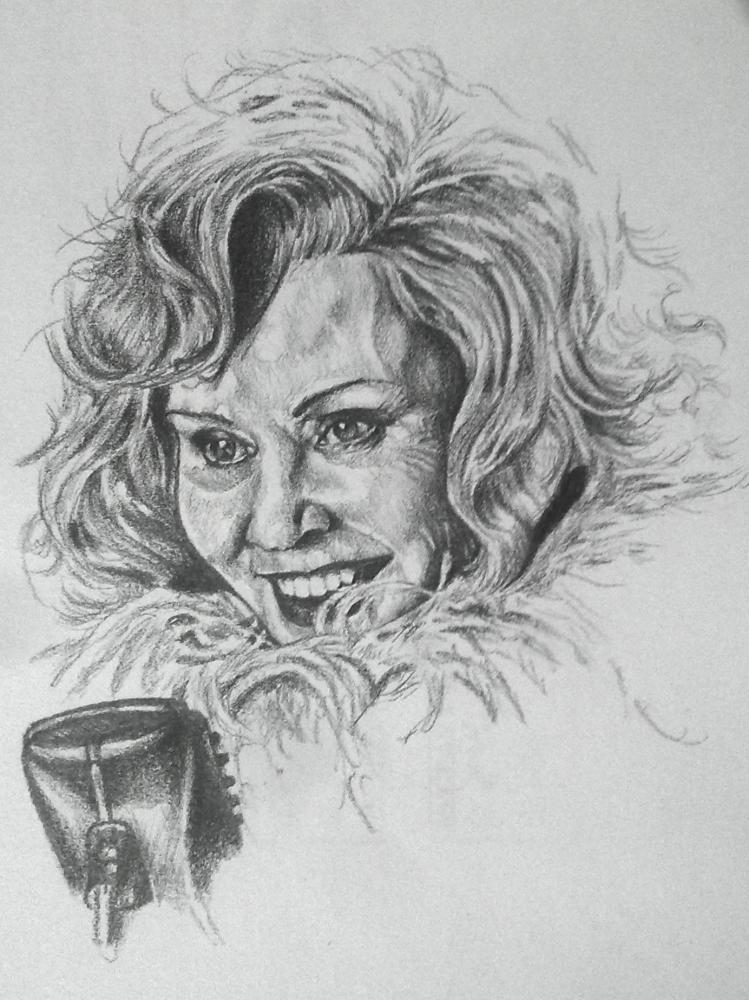 Jessica Lange by Esus
